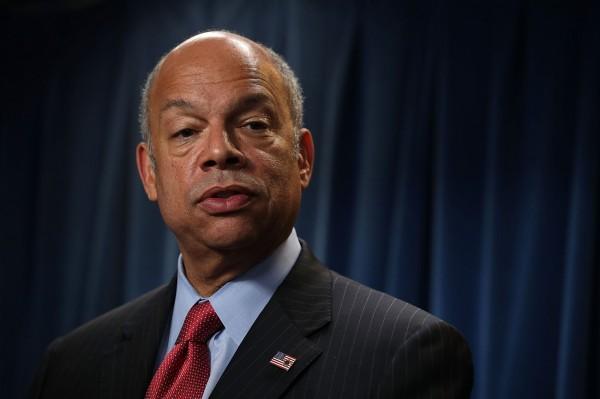 美國國土安全部長強森(Jeh Johnson)為此次的「指定倖存者」。(法新社)