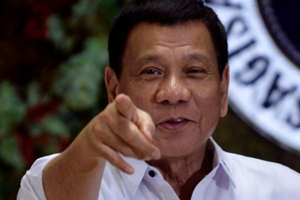 菲律賓總統杜特蒂相信,川普會將毒犯給殺死。(路透)