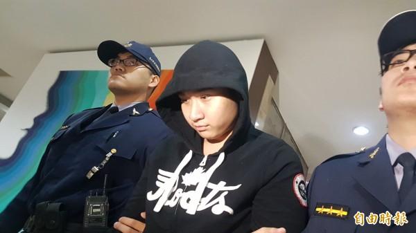江哲瑋涉嫌提供毒品,下午2時許被檢方聲押禁見。(資料照,記者錢利忠攝)