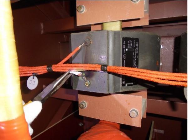 核三廠設備因接線未接妥當導致此次停機意外。(台電提供)