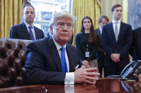 消息指出,川普將針對敘利亞和中東、非洲6國發布禁令。(歐新社)