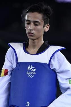 比利時跆拳道選手凱畢。(圖擷自《7SUR7》)