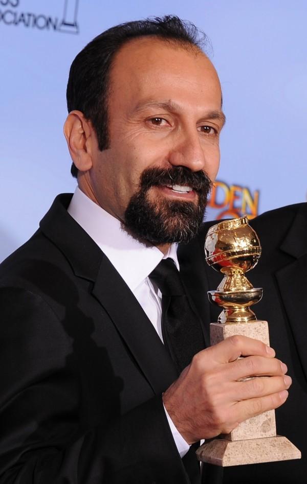 伊朗導演法哈蒂曾以「分居風暴」拿下奧斯卡最佳外語片,今年又以「新居風暴」入圍同一獎項。圖為法哈蒂5年前得獎時的檔案照。(法新社)