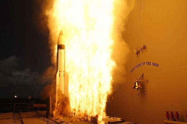 標準三型飛彈。(圖擷取自維基百科)