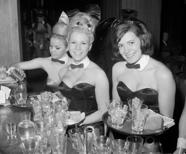 紐約的首家花花公子俱樂部1962年在曼哈頓開張,最後因不敵女權人士的批評而熄燈,至今已過了30年。(美聯社)