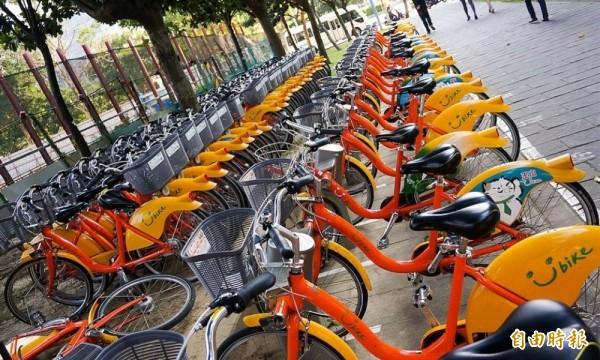 討論許久的公共自行車保險,可望在今年上半年定案。(資料照,記者楊政郡攝)