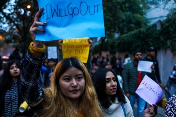 印度近年屢傳女性遭到性侵的案件,但有一份調查報告卻只出,過半的性侵案其實是假的。(法新社)