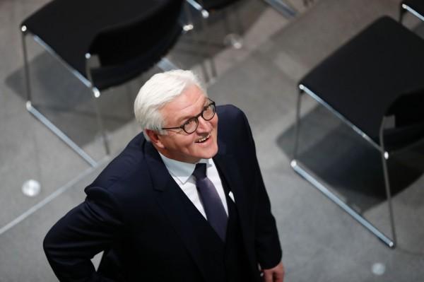 過去曾多次批評美國總統川普的德國外交部長史坦麥爾,今(12)日獲得壓倒性的票數支持,當選德國總統。(法新社)