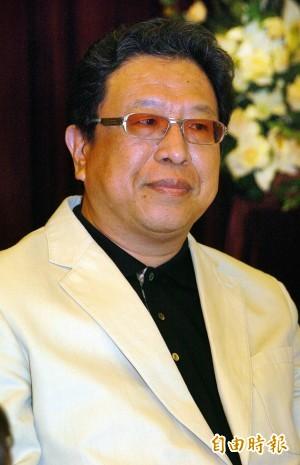 政論名嘴汪笨湖今天早上因病離世,享年65歲。(資料照,記者簡榮豐攝)