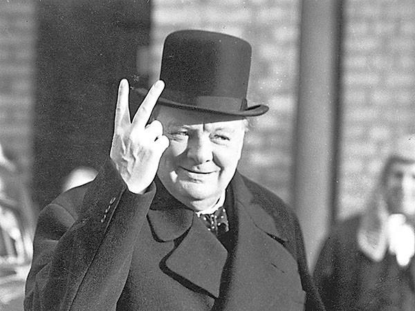 前英國首相邱吉爾。(圖擷取自網路)