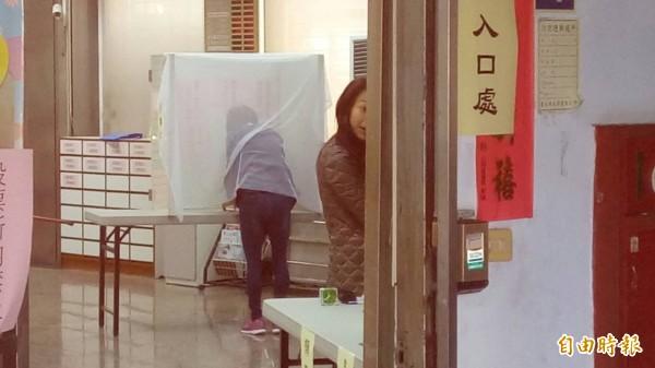 基層農會選舉今天登場。(記者黃建豪攝)