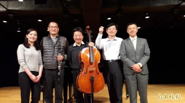 張正傑親子音樂會又來新竹了!這次將帶來精彩的管樂和弦樂大PK,邀請親子來投票。(記者洪美秀攝)
