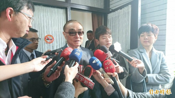 國防部長馮世寬針對今年漢光演習內容說明。(記者彭琬馨攝)