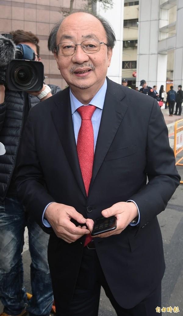 民進黨團總召柯建銘表示,有信心本會期通過年金改革和稅改法案。(資料照,記者廖振輝攝)