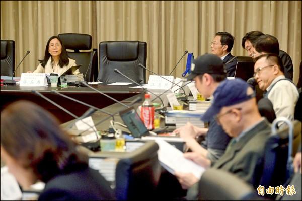 司法改革國是會議」第四分組會議24日在總統府內召開,由召集人前大法官許玉秀主持。(記者叢昌瑾攝)