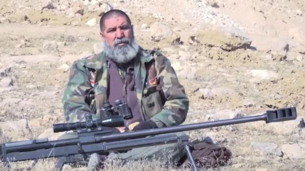 現年63歲的伊拉克退役士兵塔赫辛,過去曾參加贖罪日戰爭、兩伊戰爭、海灣戰爭等多場戰爭。(圖截自YouTube)