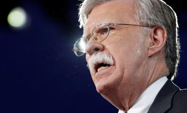 美國前駐聯合國大使波頓表示,川普政府應重新透過協商,改變40年來美國的「一中政策」慣例。(路透資料照)