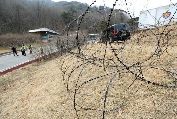樂天集團提供南韓佈署薩德飛彈基地(圖),被中媒指其超市將撤離中國市場。(路透)