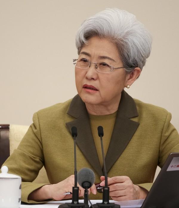 傅瑩表示,2017年中國國防預算約1.02兆人民幣,成長幅度為7%。(歐新社)