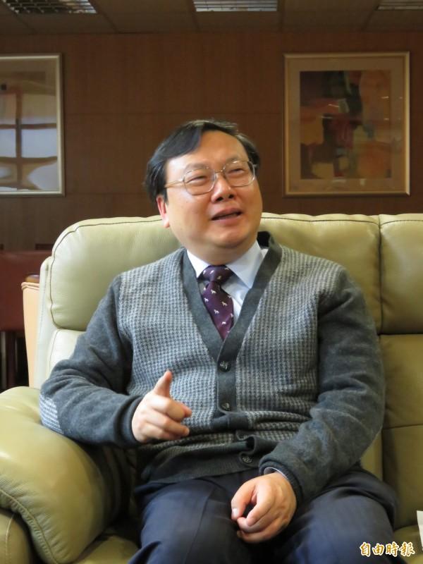 基隆地檢署檢察長認為應強化廉政署功能。(記者吳政峰攝)