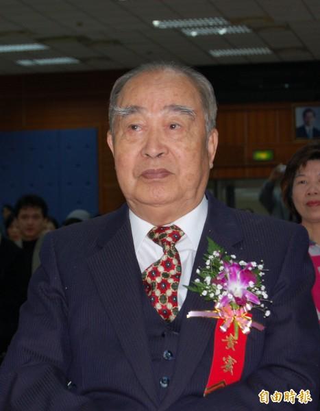 前副總統李元簇(資料照)