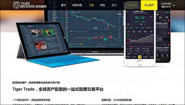 中資色彩濃厚的跨境投資平台「老虎證券」,遭金管會「舉紅牌封殺」!(取自網路)
