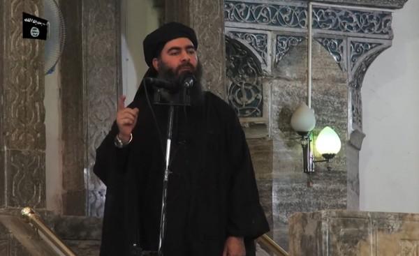 有外媒報導指出,IS的首腦巴格達迪已經棄城逃跑,留下部隊指揮官在前線孤軍奮戰。(法新社)