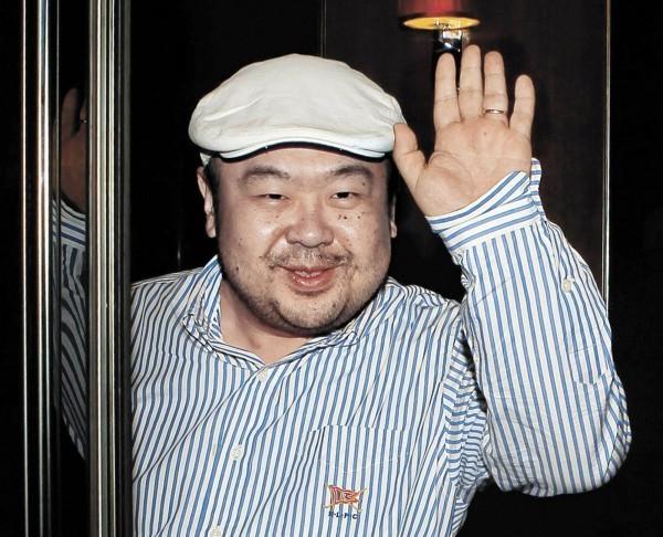 金正男上月在吉隆坡國際機場遭遭兩名女子以VX神經毒劑塗抹在臉上,之後痛苦慘死。(美聯社)