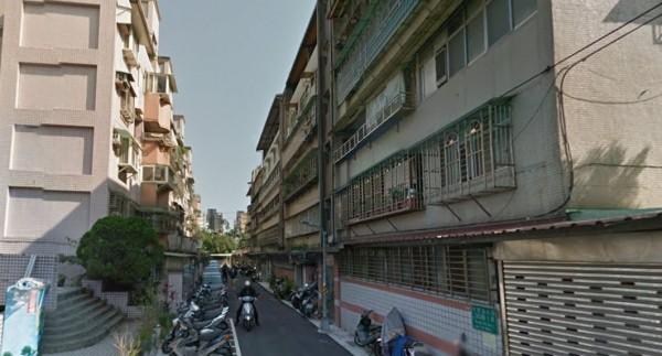 台北市文山區木新路3段243巷內今日發生公寓火警。圖為243巷街景,與本新聞無關。(圖擷自Google街景)