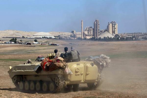 伊拉克北部城市摩蘇爾(Mosul)附近的巴杜什(Badush)。(法新社資料照)