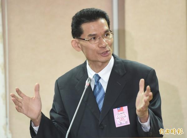 反對修民法的護家盟秘書長張守一質疑,同姓與異性婚姻本質不同。(資料照,記者劉信德攝)