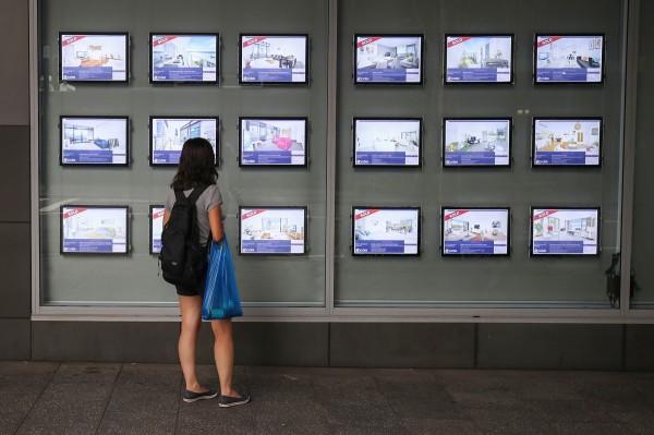 澳洲雪梨房價逐年攀升,許多年輕人早已放棄買房。(彭博社)
