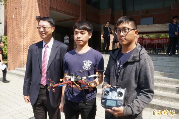 「2017年台灣無人機創意設計競賽」將於3月25、26日登場.(記者劉婉君攝)