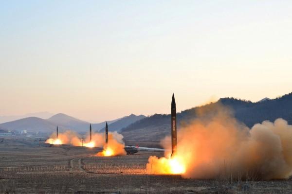 北韓今早又發射數枚導彈,但以失敗收場。圖為示意圖。(路透)