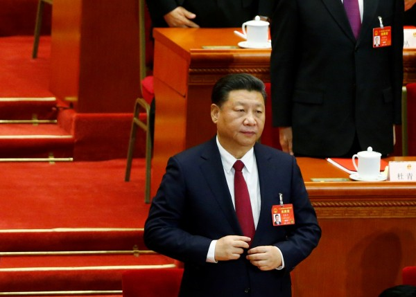 習近平思想傳將被寫入中共黨章。(路透)