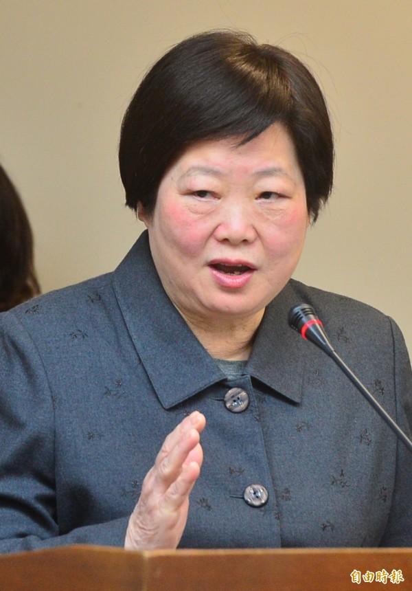 勞動部長林美珠稱台灣經濟是靠勞資雙方共同努力而來,資方應疼惜勞工,勞工也體諒老闆。(資料照,記者王藝菘攝)