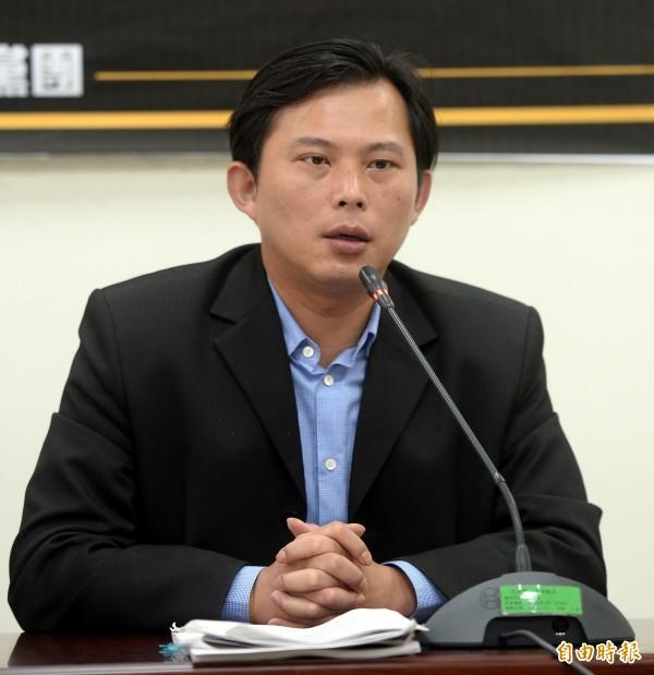國民黨不願進行聯席審查,令黃國昌感到不滿。(資料照,記者林正堃攝)