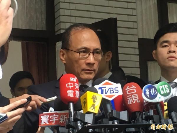 行政院長林全表示,政府機關宣導政策,還是從正面說明為宜。(記者鄭鴻達攝)