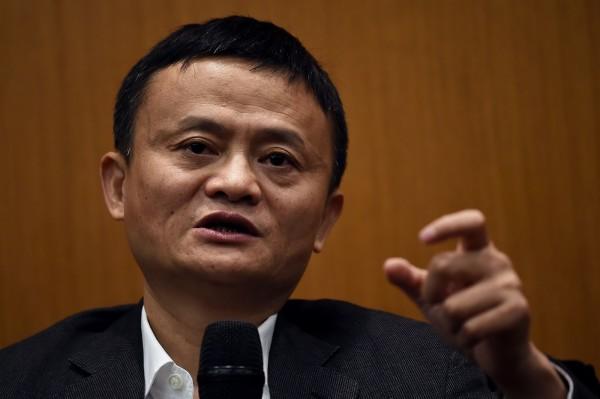 中國「阿里巴巴集團」主席馬雲。(法新社)