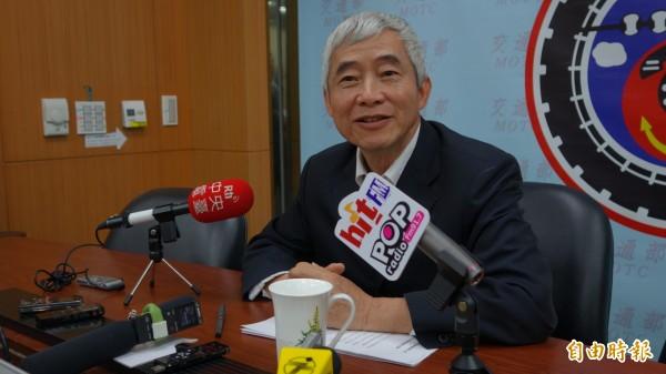 賀陳旦:中國團客人數減少不必在意或擔心,重點是爭取自由行旅客(記者鄭瑋奇攝)