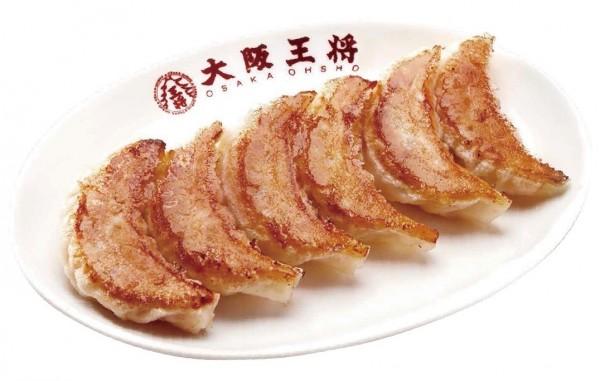 要吃到大阪王將元祖鍋貼,再也不用跑到台北或大阪。(記者王捷翻攝)