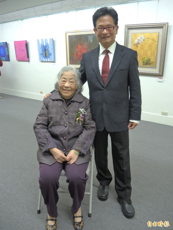 張慧生和王志誠是復興商工52年來唯二的校長。(記者翁聿煌攝)