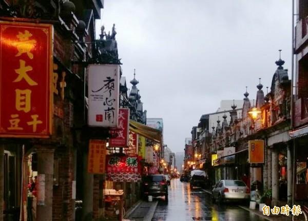 大溪老街是台灣桃園的熱門景點。(資料照,記者李容萍攝)