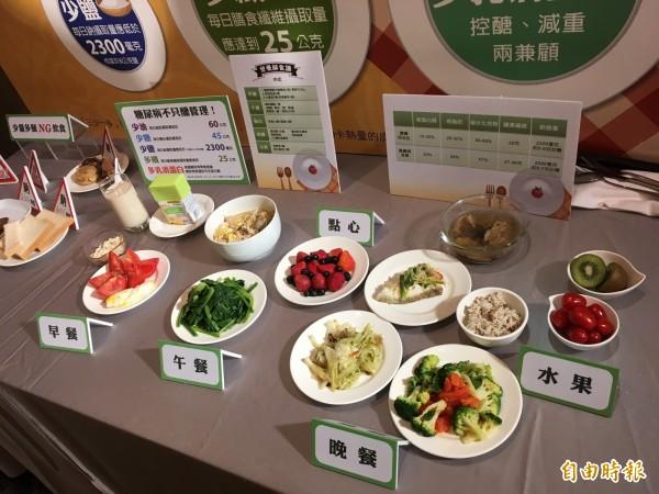 董氏基金會提醒,不想變胖,早餐一定要吃且要吃蛋白質。(記者林彥彤攝)