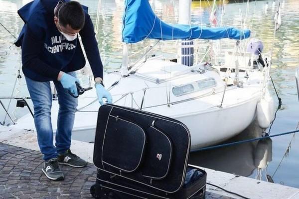 義大利里米尼(Rimini)港口發現箱屍,一名亞裔女子陳屍其中。(圖擷自《Dublin Live》)