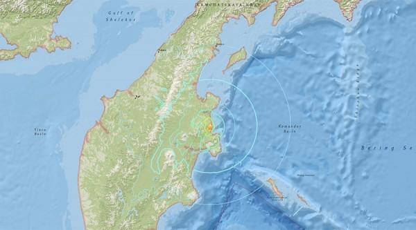 俄羅斯遠東地區傳出規模6.6強震。(圖擷自路透)