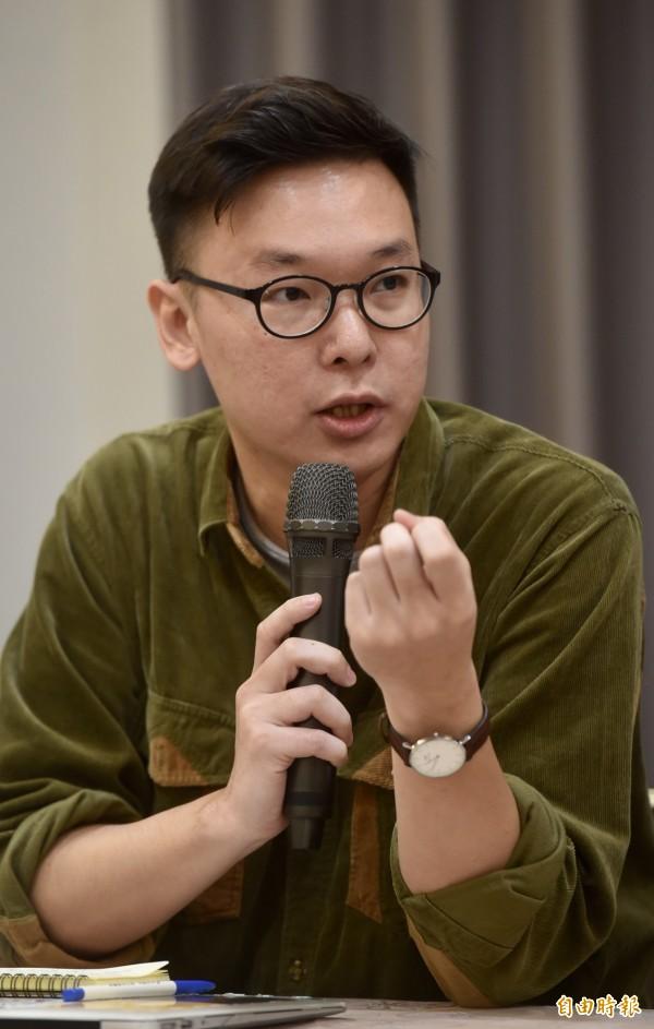 學運領袖林飛帆表示,「這場判決替台灣下一輪民主改革,做了很重要的司法準備」。(資料照,記者簡榮豐攝)