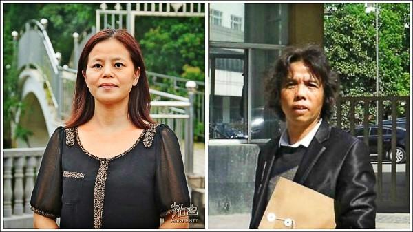 當年支持佔中而被拘至今的中國百姓蘇昌蘭(左)、陳啟棠「煽動顛覆國家政權罪」重刑確定。(網路)