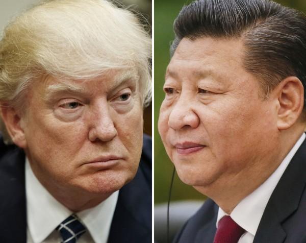 川普表示,他非常尊重中國國家主席習近平,但若中國不願對北韓施壓,美國將自行處理北韓威脅。。(美聯社資料照)
