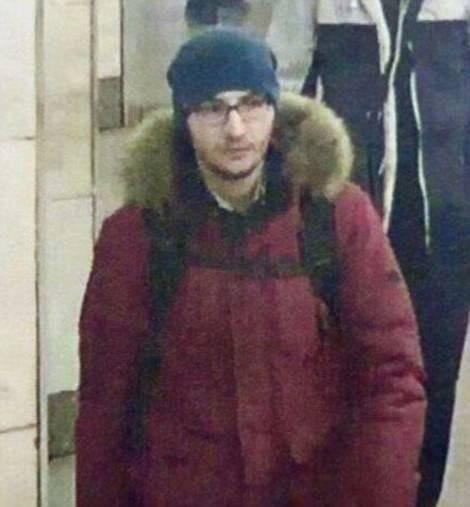 出生於吉爾吉斯共和國、擁有俄羅斯公民身分的22歲男子賈利諾(Akbarzhon Jalilov),被認為是聖彼得堡地鐵爆炸案的嫌疑人,指外媒報導他已在爆炸中死亡。(圖擷自《每日郵報》)